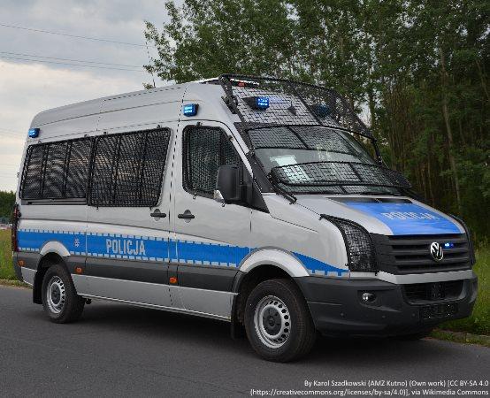 Policja Lubin: Zatrzymaj łańcuch cyberprzemocy. Spot lubińskich policjantów.